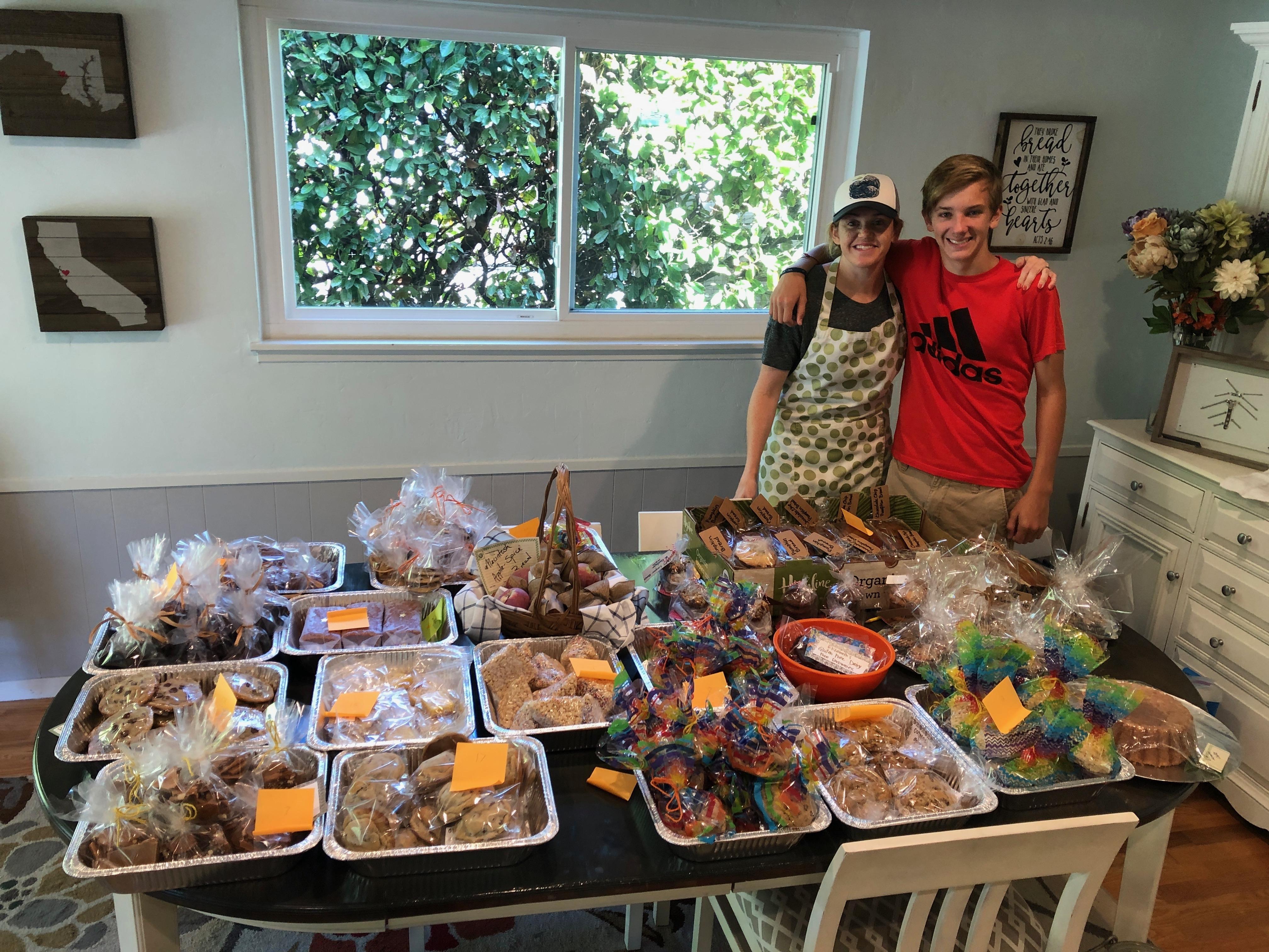 Fundraising Bake Sale